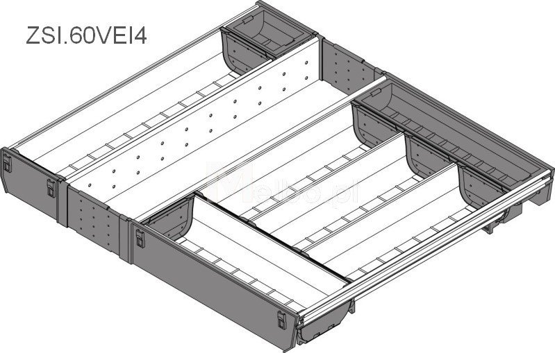 blum orga line wk ad do szuflady tandembox 60 cm. Black Bedroom Furniture Sets. Home Design Ideas