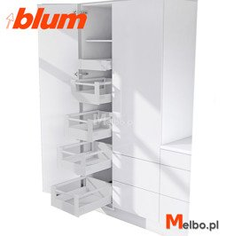 CARGO wysokie BLUM SPACE TOWER 40 50 60 L500 popiel