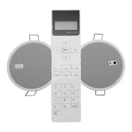 Radio eisSOUND do zabudowy w kuchni łazience KB Sound iSelect 2,5'' RDS