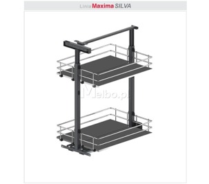 Rejs Maxima SILVA Cargo mini dolne 400 chrom/grafit WE32.0020.43.781